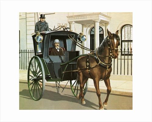 Horse drawn cab in valletta