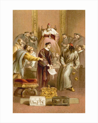 The Merchant of Venice by Sir John Gilbert