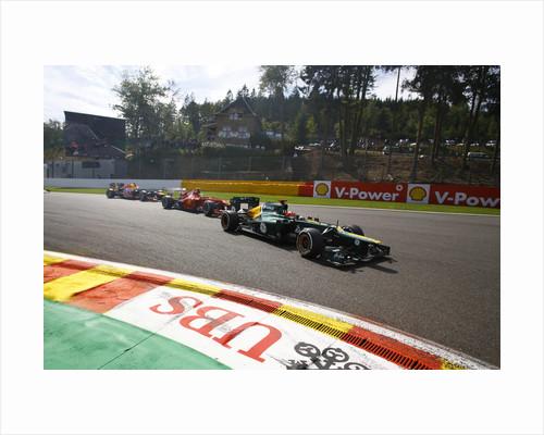 Lead the way, Heikki Kovalainen, Belgium by Steven Tee