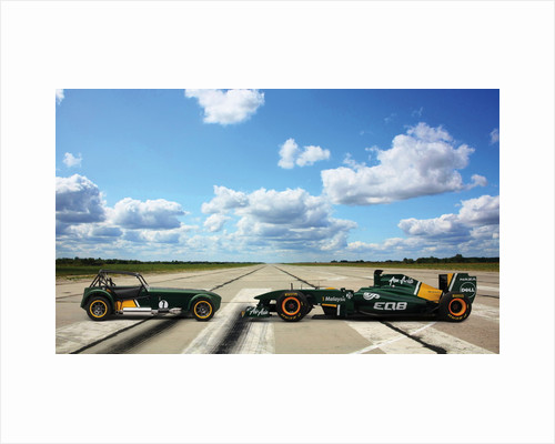 Caterham Launch by Christian Clogger