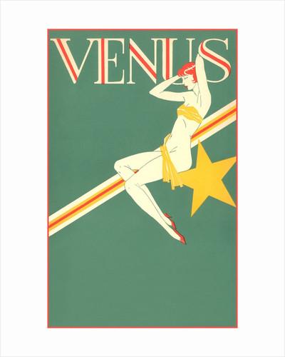 Perched Art Deco Venus by Corbis