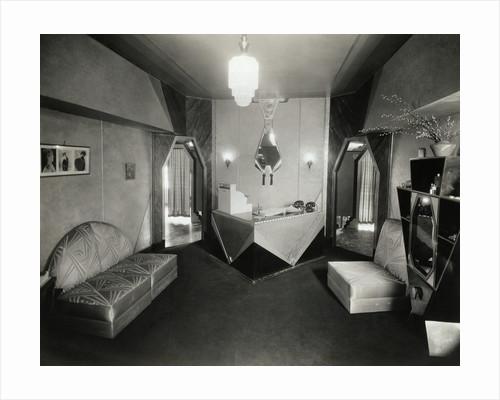 Art Deco Salon in the Jefferson Hotel by Corbis