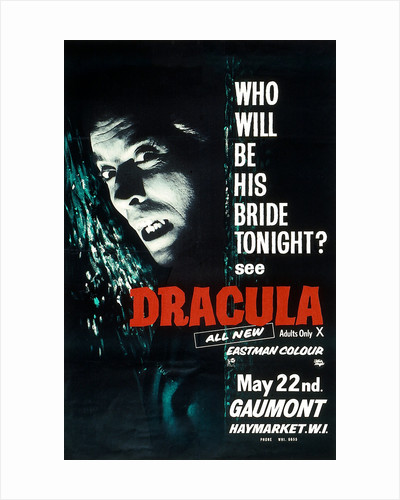 Dracula 1958 by Anonymous