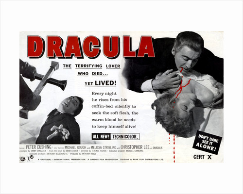 Dracula Trade Advert by Anonymous