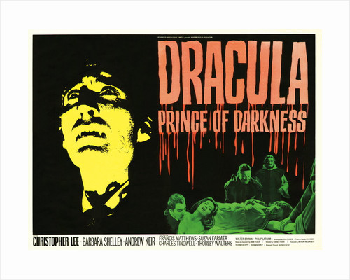 Dracula Prince Of Darkness by Tom Chantrell