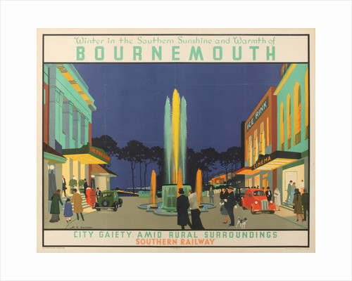 Winter in the Southern Sunshine and Warmth of Bournemouth by George Henry Gawthorne