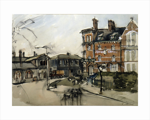 The Station Hotel, Stafford by P. Carlton