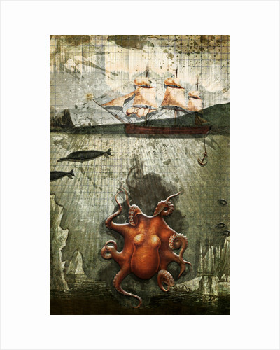 Paper III: Octopus/Ships by Heather Landis