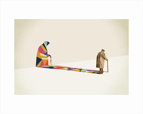 Walking Shadow 2 by Jason Ratliff