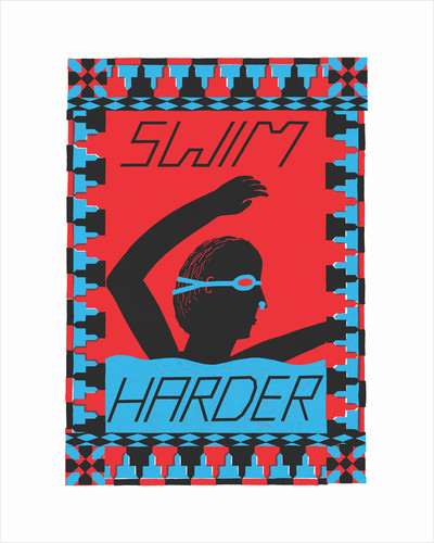 Swim Harder by Joe Rogers