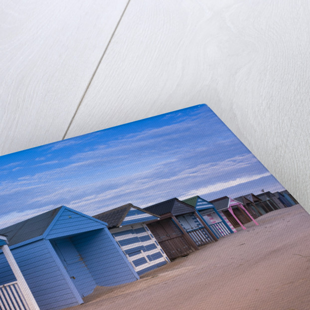 Beach Huts, West Wittering Beach, UK by Assaf Frank
