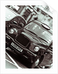 Black Cab London Taxi by Assaf Frank