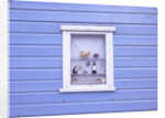Beach hut window close-up by Assaf Frank