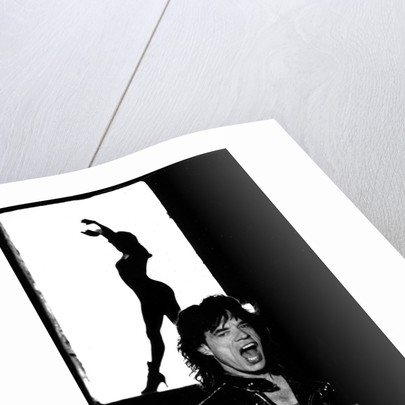 Mick Jagger promo shots (4) by Tim Dry