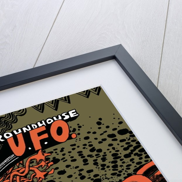 UFO Poster by Rokpool