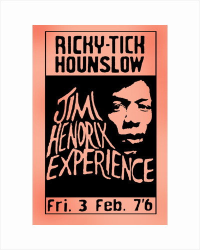 Jimi Hendrix Experience Poster 1 By Rokpool