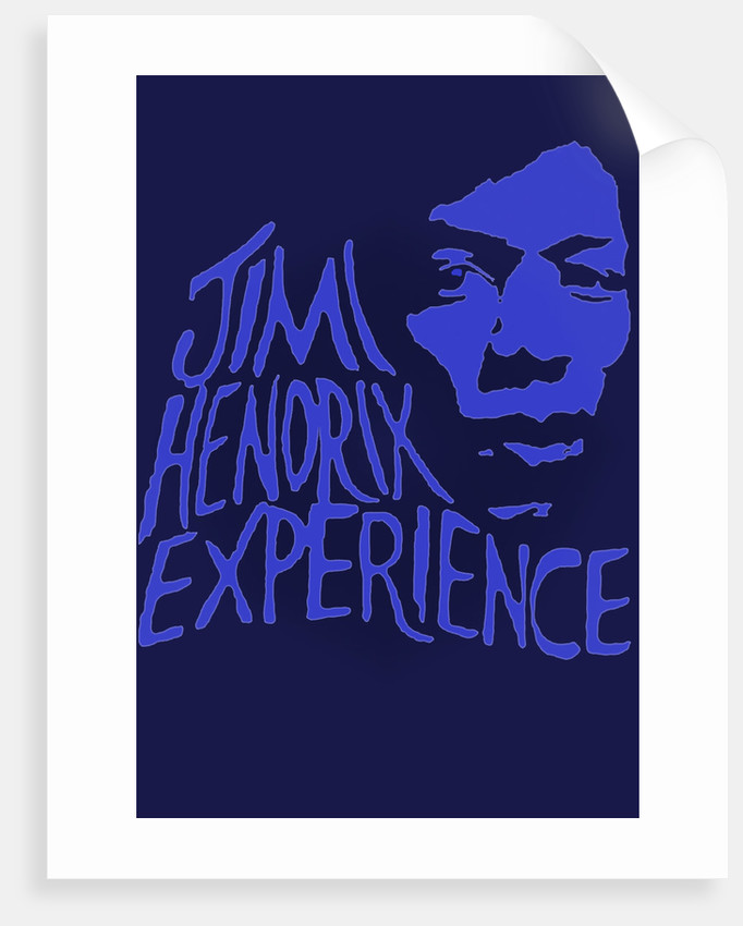 Jimi Hendrix Experience Poster by Rokpool