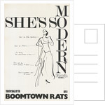 Boomtown Rats poster by Rokpool
