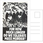 Mass Murder Poster by Rokpool