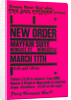 New Order Poster by Rokpool