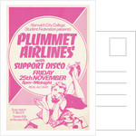 Plummet Airlines poster by Rokpool