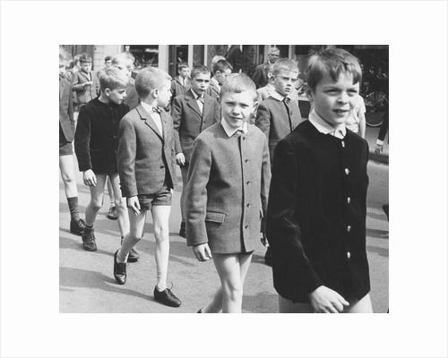 Boys in uniform, c1960s by Tony Boxall