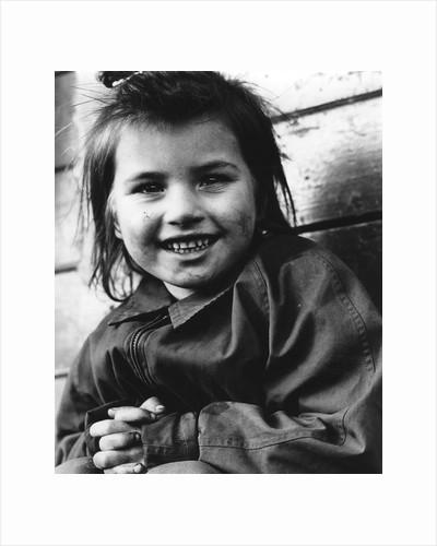 Daphne, gypsy girl, Newdigate, Surrey, 1960s by Tony Boxall