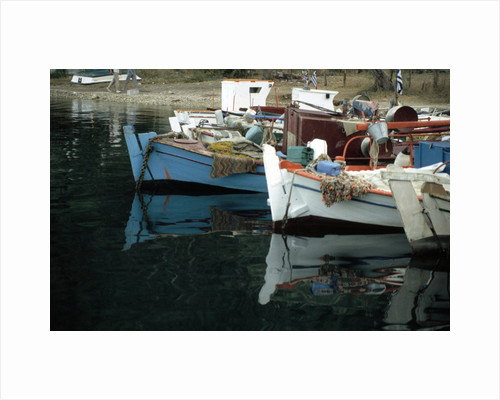 Harbour, Meganisi, near Levkas, Greece by Tony Boxall