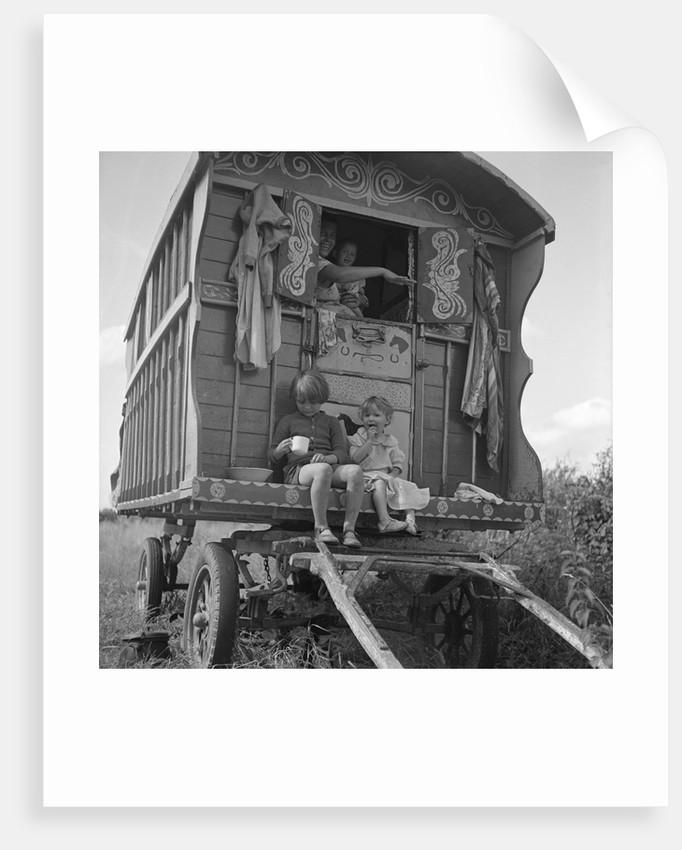 Gipsy caravan, Outwood, Surrey, 1963 by Tony Boxall