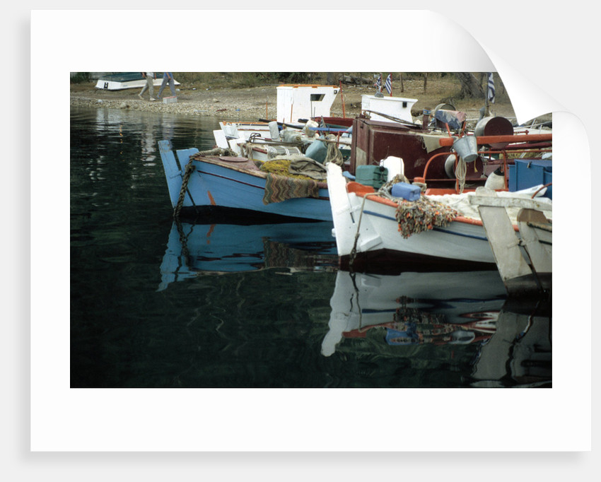 Harbour, Meganisi, near Levkas, Greece by Tony Boxall