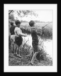 Boys fishing, c1960s by Tony Boxall