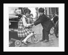 Children playing with a tricycle, c1960s by Tony Boxall