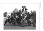 Young people on motorbikes, c1970 by Tony Boxall
