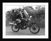 Teenagers on a motobike, Charlwood, Surrey, 1972 by Tony Boxall