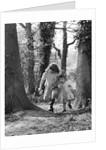 Janie and Daphne, gipsy girls, Charlwood, Surrey, 1964 by Tony Boxall