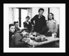 Roadside gipsy family re-housed, 1960s by Tony Boxall