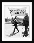 CND demo, Horley, Surrey, c1968 by Tony Boxall