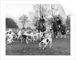 Surrey Union fox-hunters, c1960s by Tony Boxall
