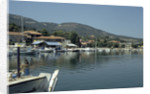 Harbour, Ligia, Lefkas, Greece by Tony Boxall