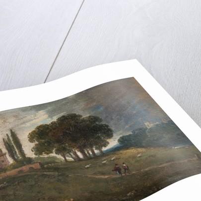 Hampstead capriccio, 1828 by William George Jennings