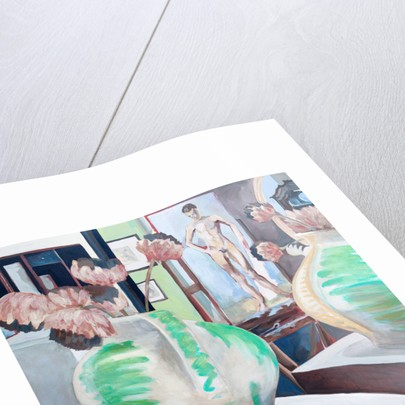 Charleston Studio - Ewer, Easel & Mirror by Lottie Cole