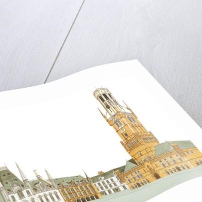 Market Square. Bruges, Belgium by Fernando Aznar Cenamor