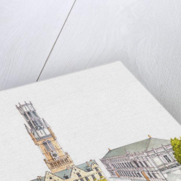 Burg Square. Bruges, Belgium. by Fernando Aznar Cenamor
