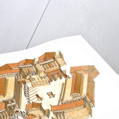 Imperial Forum. Rome. Aerial view by Fernando Aznar Cenamor