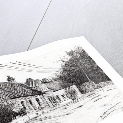 Lindesfarne,holy island by Vincent Alexander Booth