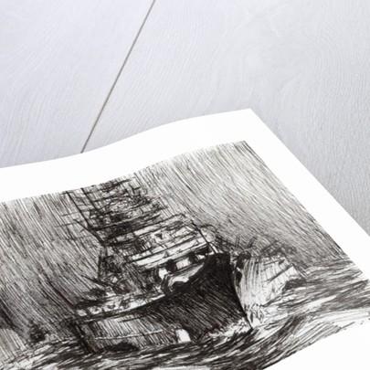 Bismarck,off Greenland by Vincent Alexander Booth