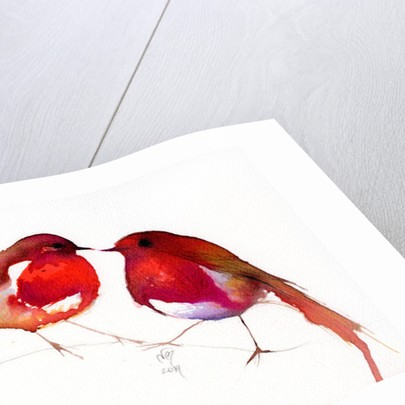 Two Little Ink Birds by Nancy Moniz Charalambous