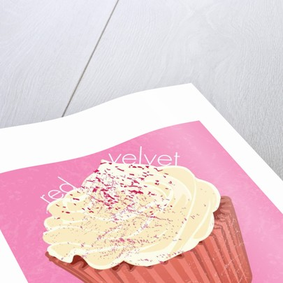 Red Velvet Cupcake, 2019 by Nancy Moniz Charalambous