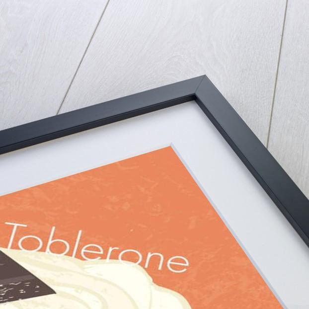 Chocoate Toblerone Cup Cake, 2019, digital art by Nancy Moniz Charalambous
