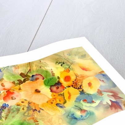 Golden Hibiscus by Neela Pushparaj
